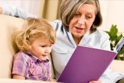 nurse teaching little girl
